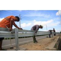 Buy cheap Full Automatic Control Highway Fence 2 Waves Guardrail Cold Roll Forming from wholesalers