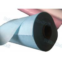 Best Perforated Hospital Bed Sheets Disposable Examination Table Cover Roll PE Coated wholesale