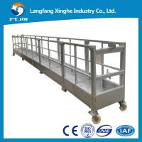 Best ZLP800 Hot galvanized electric platform / the working cradle / swing stage wholesale