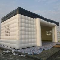 China White Color 12m Square Inflatable Event Tent / Party Tent / Outdoor Event Tent on sale