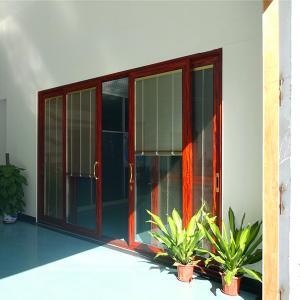 Best 2.0mm aluminum profile thickness sliding glass door wholesale