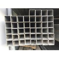 Cheap Hairline Finish Stainless Steel Pipe / Seamless Square Steel Tubing 201 for sale