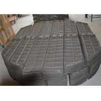 China 410 Stainless Steel Mesh Pad , Demister Mat Corrosion Resistance For Gas Scrubber on sale