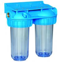 Best PP Material Doulbe Water Filter Housing 10 Inch Size String Wound Filter Cartridge wholesale