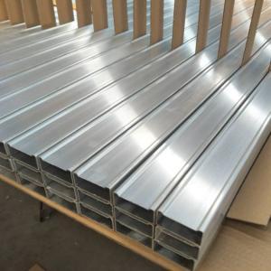 Best Extruded Hollow Aluminium Rectangular Tube For Ladders wholesale