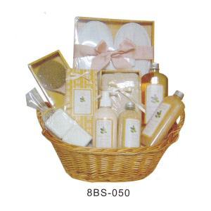 Best Promotional Basket Bubble Bath Gift Set , 20g Bath Tea #8BS-050 wholesale