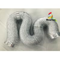 "Best 2""~20"" Size Aluminum Flexible Duct Installation Easy Reinforced Double Layer wholesale"