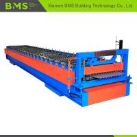 Best Steel Panel Corrugated Roof Roll Forming Machine 22 Stations With Auto Stacker wholesale