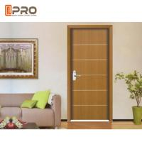 Best Modern Aluminum MDF Interior Doors For Home / Hotel And Apartment wholesale