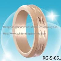 China Fashion Jewelry Ring tungsten ring on sale