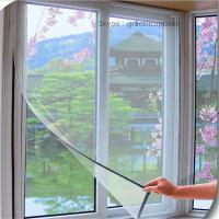 Best Easy installation Anti mosquito DIY Magnetic Properties flyscreens wholesale