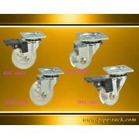 China 25mm~200mm Swivel Casters hyaline wheel for medical,industrial rackings,trolleys,or handcarts on sale