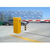 Best Yellow / White 80W Automatic Boom Barrier Gate For Parking / Traffic Access Control wholesale