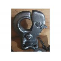 China 1541 Alloy Steel Forged Steel Parts Forging Towing Hook Parts For Autocar on sale