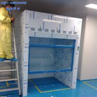 Best High-Level New Design Custom Made Floor Mounted Walk In Fume Hood With Microprocessor Control System wholesale