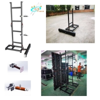 Best Ladder Truss LED Screen Support Aluminum Indoor Wall Screen Ground Support System wholesale