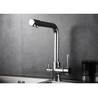 Best 3 Way Drinking Water Filter Kitchen Basin Faucet Ceramic Valve Core Material ROVATE wholesale