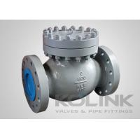China Bolted Cover Piston Check Valve Cast Steel Spring Loaded Lift Disc on sale