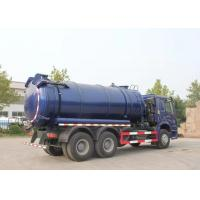 China 20CBM LHD 336HP Sewage Cleaning Truck With Time Saving Vacuum Pump on sale