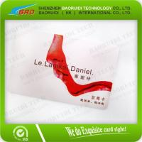 Buy cheap Competitive Printable Cheap Frosted PVC Business Card from wholesalers