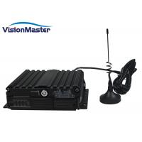 China 128GB Black Mobile Cctv Dvr For Vehicles / Van / Cab / Truck 4G Function Optional on sale