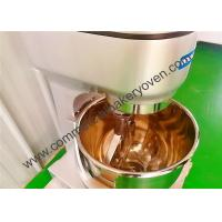 Best Stainless Steel Commercial Planetary Mixer 3 Speed 10 Liter For Cake Bakery wholesale