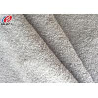 China Multi Colour Polyester Tricot Knit Fabric 50D Warp Knitted Bright Velvet Fabric For Pillow on sale