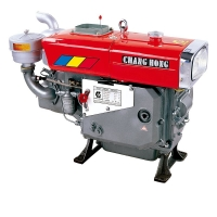 China ISO ZS1100L 2200RPM 4 Stroke Machine Diesel Engine on sale