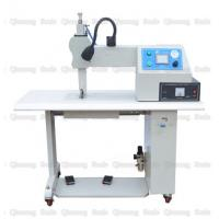 China 800 Watt Ultrasonic Sewing Machine For Fabric Sealing Cutting With 12mm Rotary Wheel on sale