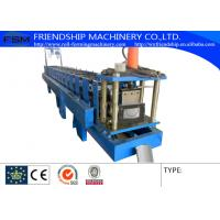 Best 0.4-0.8mm Thickness Color Aluminum Half Round Gutter Roll Forming Machine wholesale