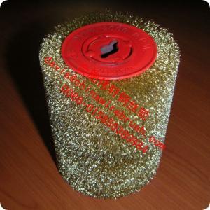 Best Brass Plated Steel Roller Wire Brush wholesale