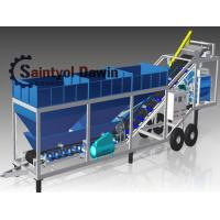 China 40 CBM/Hr Mobile Concrete Batching Plant Mixing Plant China Maufacturer on sale