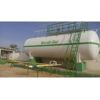 Best 20MT Propane Gas Station Transporting Propane Tanks For Cylinder Filling 4 Nozzles wholesale