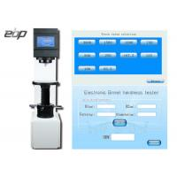 China 3000kgf Closed Loop Load Cell Brinell Testing Machine With LCD Touch Screen on sale
