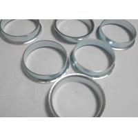 China Zinc Plating Deep Drawn Parts Metal Ring Stamping 1.5mm Thickness For Chair on sale