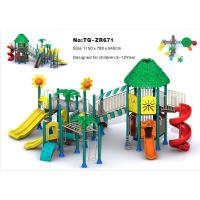 China Combined Slide Children'S Outdoor Playground Equipment For Amusement Park on sale