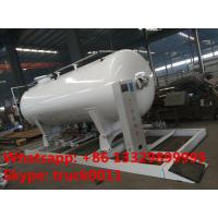 Best ASME 8m3 skid propane gas refilling plant for sale, hot sale 4MT skid mounted lpg gas tank for gas bottles cylinders wholesale