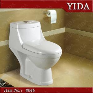 China cheapest washdown toilet, India one piece toilet, high quality ceramic toilet on sale