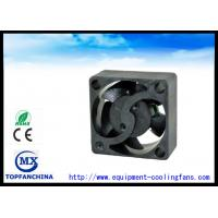 Cheap 17mm Long Lifespan Plastic Transformer Cooling Fans Axially Grooved Bearing for sale