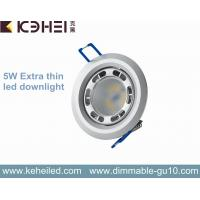 Best 5 Watt Led Downlight Angle Adjustable , High Lumen Lextar 5630 Chips wholesale