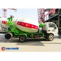 Best 1230 / 1830 Mm Foton 3m3 Concrete Mixer Truck Front Load For Transporting wholesale