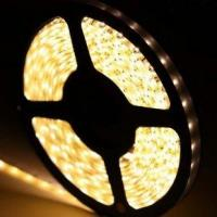 Best DC12V 120 Leds 9.6W 3528 SMD LED Strip 3000K - 4000K Warm White  IP67 Waterproof wholesale