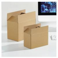 China Brown Moving Corrugated Carton Moving Boxes For Mail Box Paper on sale