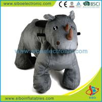 Best Motorized Riding Animals Coin Operated Plush Motorcycle Juguetes Montables Electricos wholesale
