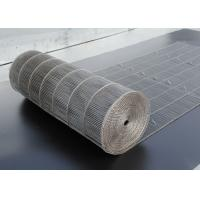 Buy cheap Chocolate Enrober Food Machine Ss Wire Mesh Conveyor Belt Customized Width from wholesalers