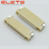 Best 1.0mm Pitch FPC connector, dual contact, SMT type, phosphor bronze, H1.5mm wholesale