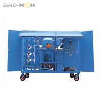 Cheap High Efficiency Transformer Oil Purifier For Electric Equipment Remove Impurities for sale