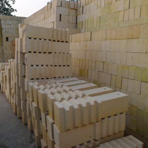 China Anchor Heat Resistance Furnace Bricks High Alumina Good Thermal Shock Resistance on sale