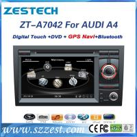 Buy cheap Touch screen car dvd player for Audi A4 with gps navigation system from wholesalers