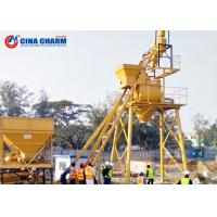 Best On Site Rmc Automatic Concrete Batching Plant HZS75 Model 2400L Charging Capacity wholesale